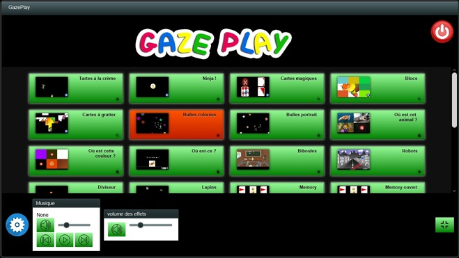 Nouvelle version de GazePlay (v 1.4.0)