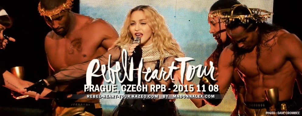 Madonna Rebel Heart Tour Prague 2