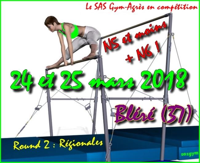 N5 et moins + N6 : Régionales Bléré - J2
