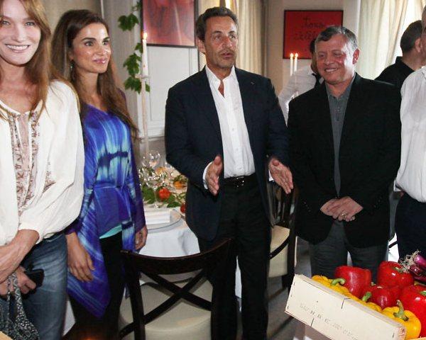 Rania à Nice