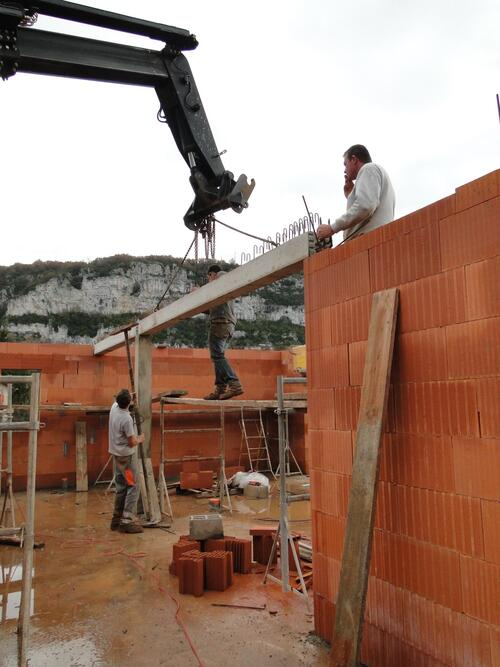 Effervescence sur le chantier
