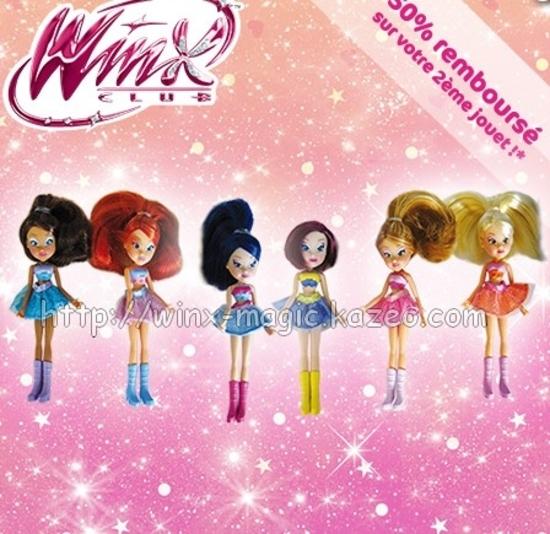 winx mini ballerines