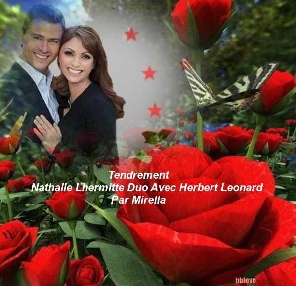 Tendrement    Nathalie Lhermitte Duo Avec Herbert Leonard    Par Mirella