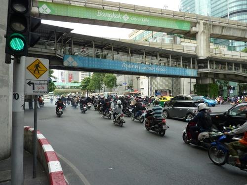 De Vientiane à Bangkok a vélo
