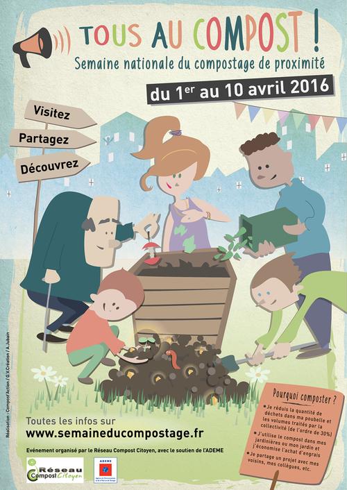 La semaine du compostage : 1er au 10 avril 2016