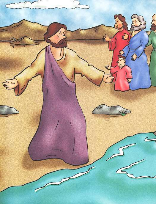 The Story of Jesus' Baptism and Temptation