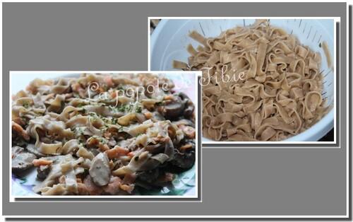 Lasagnes ou Tagliatelles a la farine de châtaigne