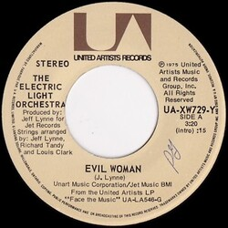 Electric Light Orchestra : Evil Woman (1976)