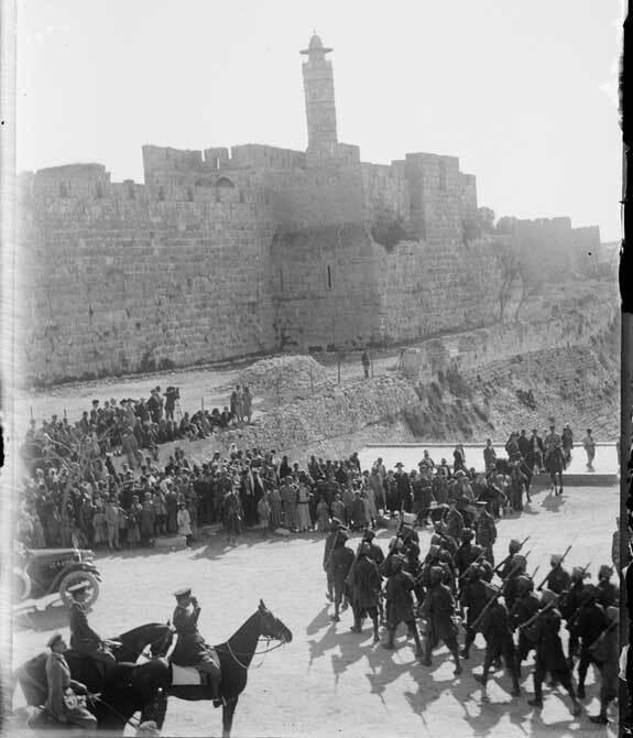 palestine en 1917