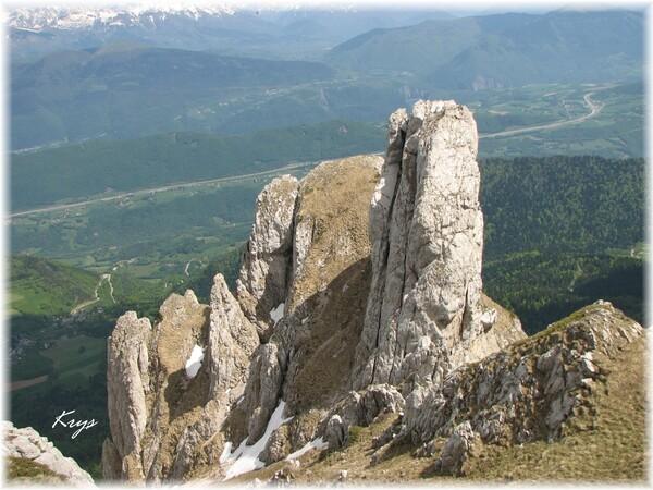 Randonnée du Col Vert au Pas de l'Oeille
