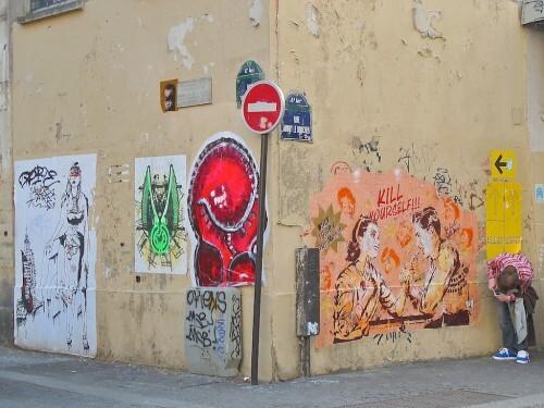 Quincampoix street-art without border Sr.X 4