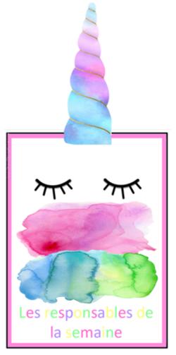 Affichages colorés