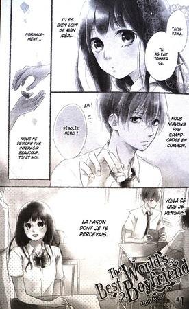 "The World's Best Boyfriend T.01 ""Manga BD"""