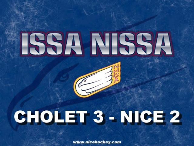 CHOLET 3 - NICE 2