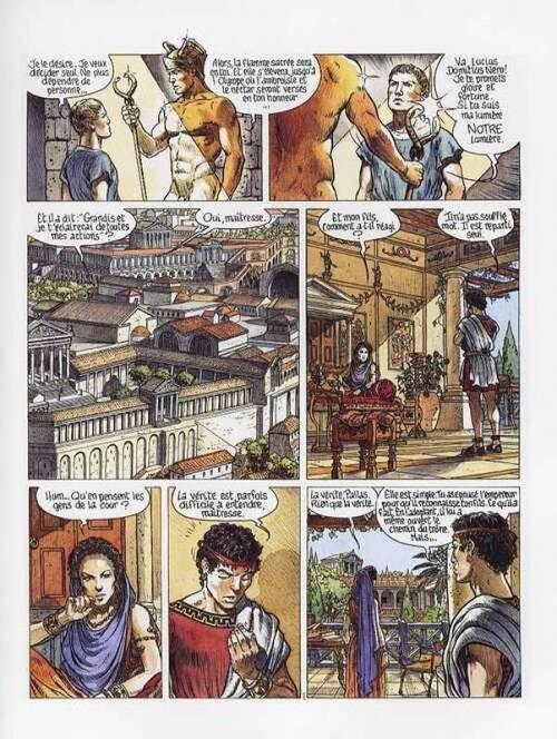 Murena, tome 1, La Pourpre et l'Or ; Jean Dufaux et Philippe Delaby