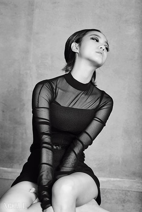 Kim Go Eun pour Vogue