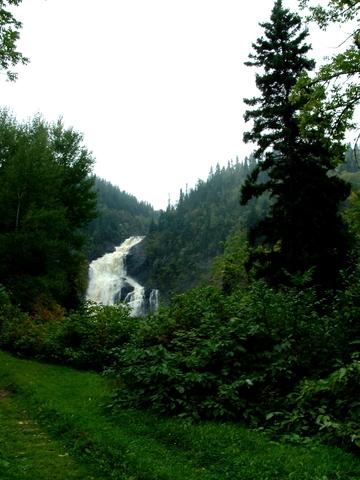 Canada : Saguenay-lac Saint-Jean, Val-Jalbert et ses chutes