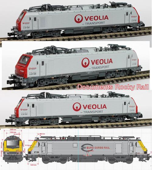 Rocky Rail - BB 37000, suite
