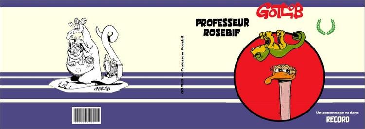 Professeur Rosebif : un inédit de 1964 dans Record