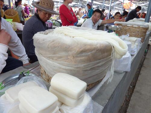 Xizhou, le marché