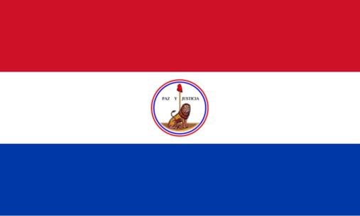 verso du drapeau du paraguay