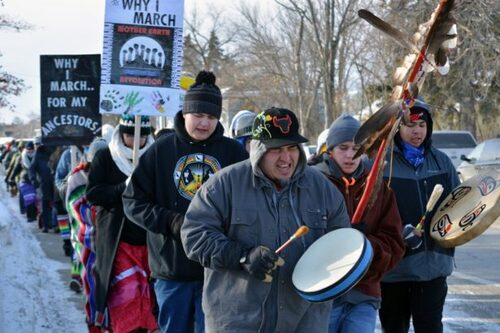 Indigenous Peoples march