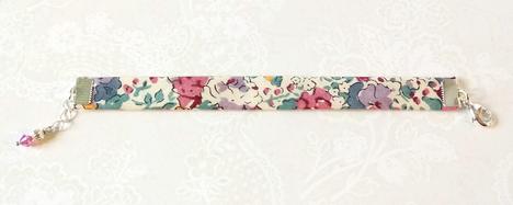 - Bracelets biais tissu liberty authentique, modèles simples, adultes et enfants