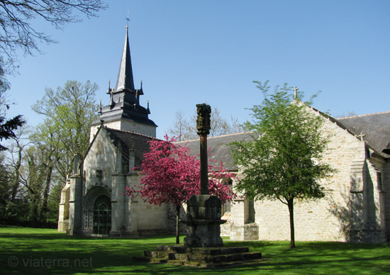 chapelle sainte noyale, noyal-pontivy