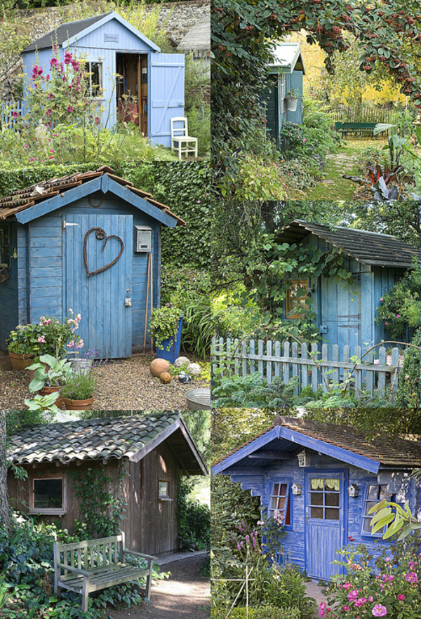 La cabane au fond du jardin ..