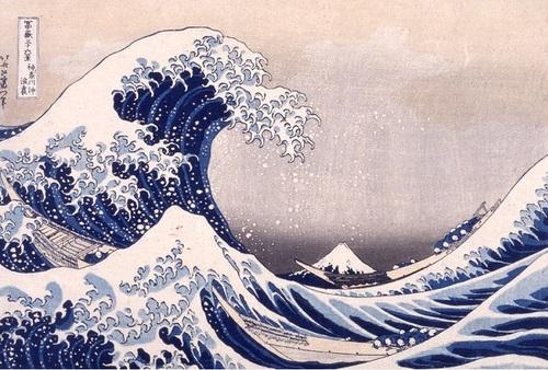 La Grande Vague d'Hokusai, en publicité