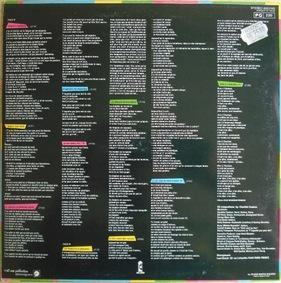 Ze Frenche Ouique - Saison 3 - Jour 1 /Mémoire de vinyl : Charlélie Couture - Pochette Surprise (1981)
