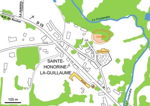 LES REMPARTS DE SAINTE-HONORINE-LA-GUILLAUME (Orne)