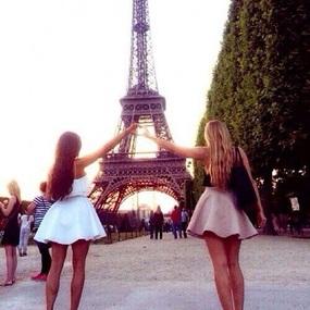 Image de paris, friends, and best friends