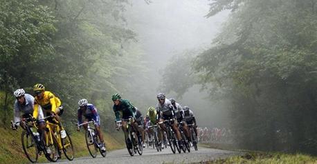 Tour de France à travers bois