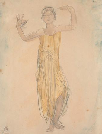 Les danseuses cambodgiennes de Rodin