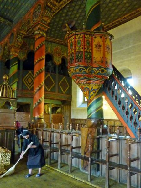 Jour 3 - Bansko l'église la chaire