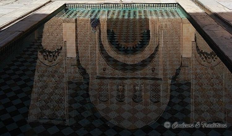 La medersa Ben Youssef  - la cour centrale 2/4