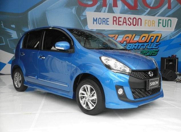 Daihatsu Sirion Pilihan Mobil Hatchback Terbaik Berkualitas