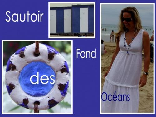 Sautoir sur le thème... fond des océans