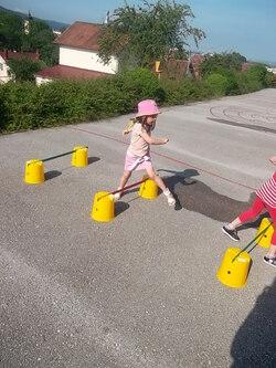Cycle athlétisme dans la cour