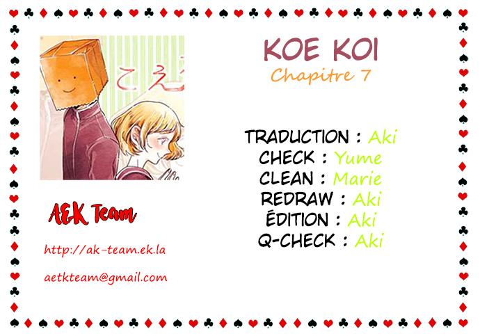 Koe Koi Chap 7