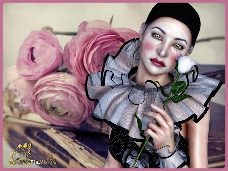 Défi la Rose pour Marjolaine !
