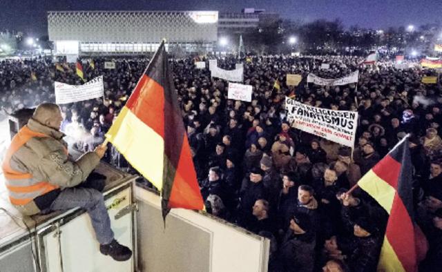 Le «Pegida» fait grossir la vague anti-islam
