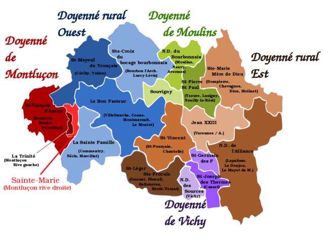 Notre Diocèse de Moulins