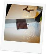 DIY...tablette de chocolat en polymère