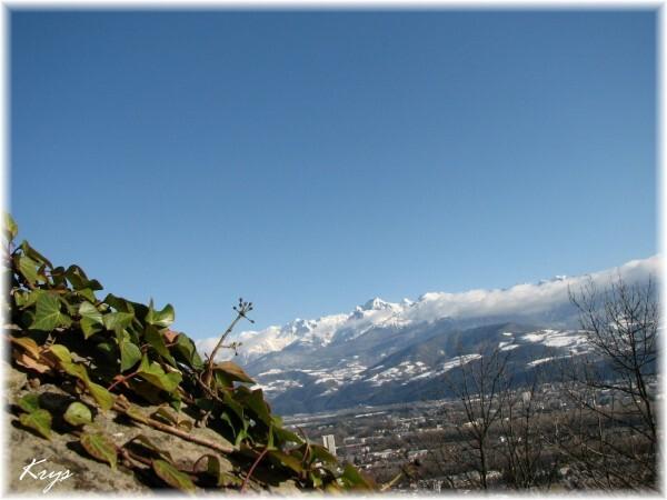 Copie de Vue depuis la Bastille à Grenoble (2)