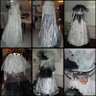 Etapes de créations (du 6ème au 10ème costume)