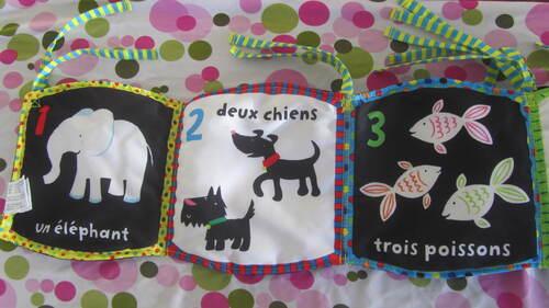 3 livres pour bébés Usborne
