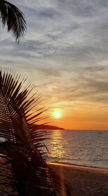 Kho Samui : Lever de soleil, avant le départ pour le Cambodge N° 7