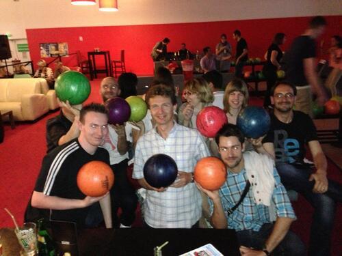 Sortie Bowling Mai 2014